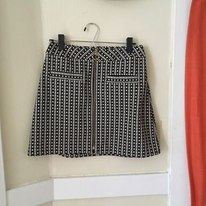 Express Mini Skirt With Zip Front